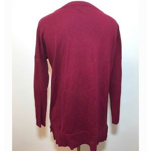 Spense Tops - Spence burgundy pattern top